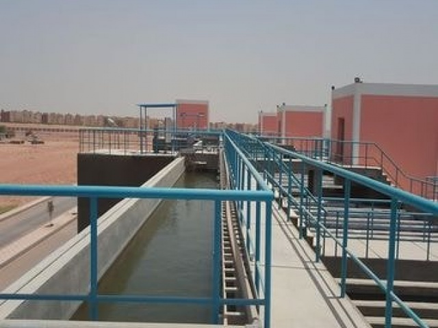 water treatment plant 6th Of October  400.000 m  day – phase 2