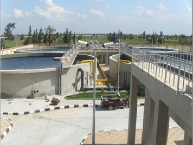 Waste Water Treatment Plant Gharbia Governorate – funded by World Bank