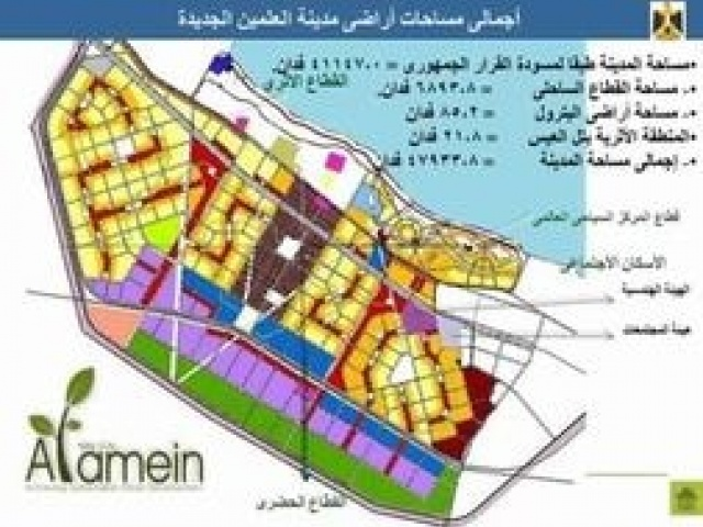 Strategic Plan for New Alamein City and Preparing Detailed design drawing For the High Priority Zone